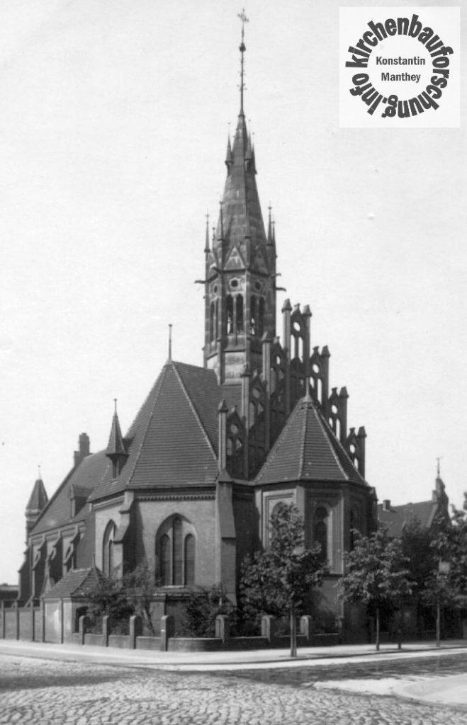 St.-Mauritius-Kirche Berlin-Lichtenberg um 1926