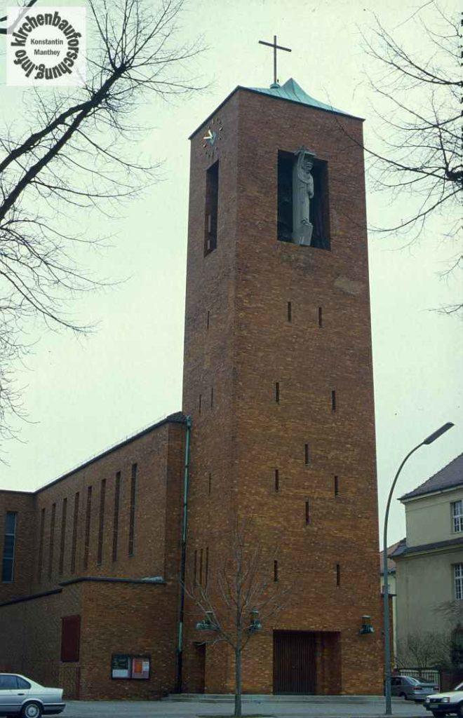 Katholische Kirche, Berlin-Dahlem, St. Bernhard, Wilhelm Fahlbusch