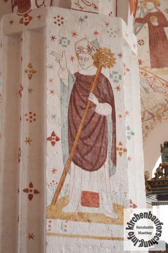 Fanefjord, Bischof, Pfeiler