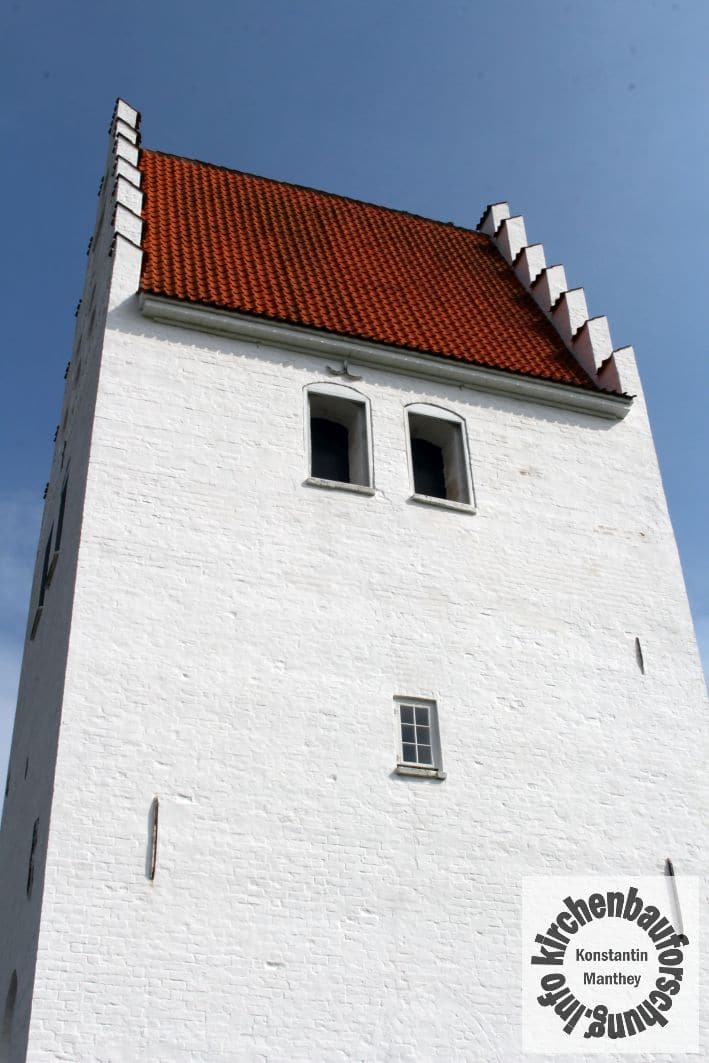 Fanefjord, Kirche, Turm