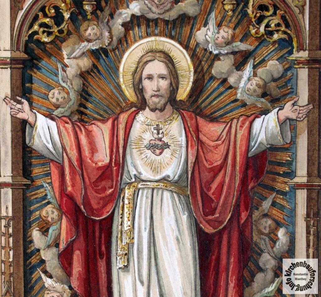 Herz Jesu, Entwurf, Altar, Hochaltar