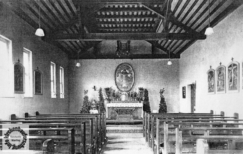 Maria Hilf, Altglienicke, Kirchenführung