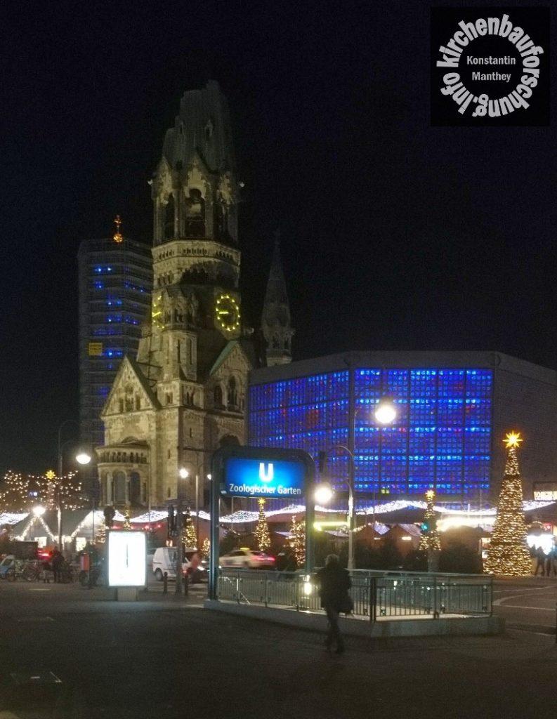 Kaiser-Wilhelm-Gedächtniskirche, KWG, Breidscheidplatz, Berlin