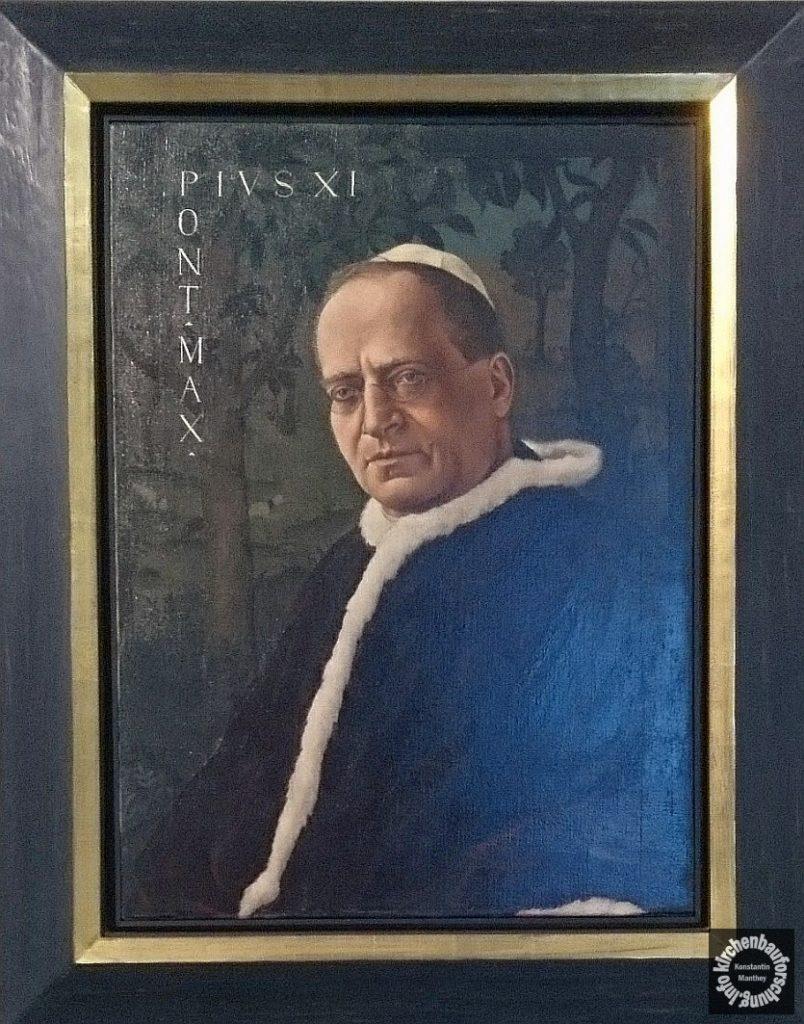 Malerei, Schad, Pius XI