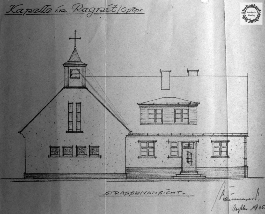 Kirchenbau, Diaspora, Ragnit, Nema, Ostpreußen