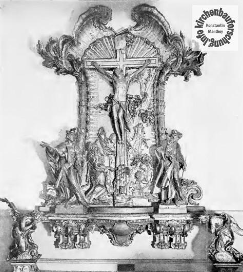 Paul Egell, Mannheim, Mannheimer Altar, 1760
