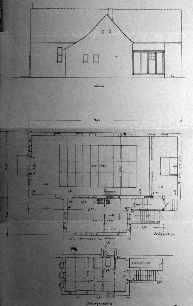 Kirchenbau, Carl Kühn, Altglienicke, katholische Kirche