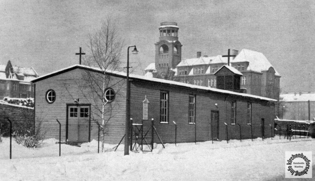 Notkirche Baracke