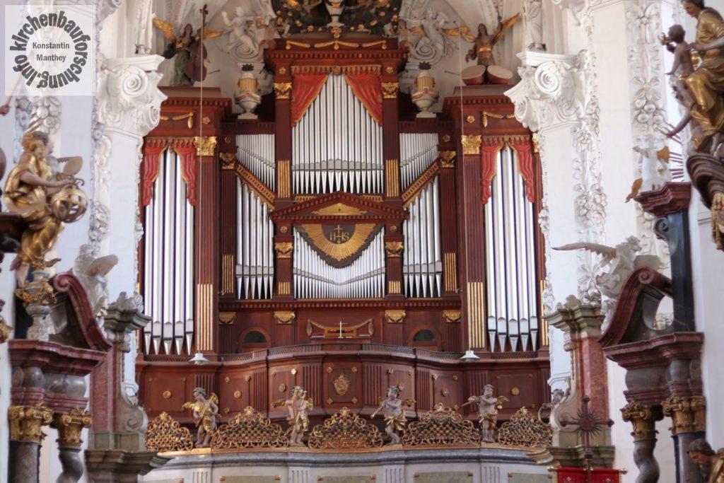 Orgel, Orgelprospekt, Neuzelle