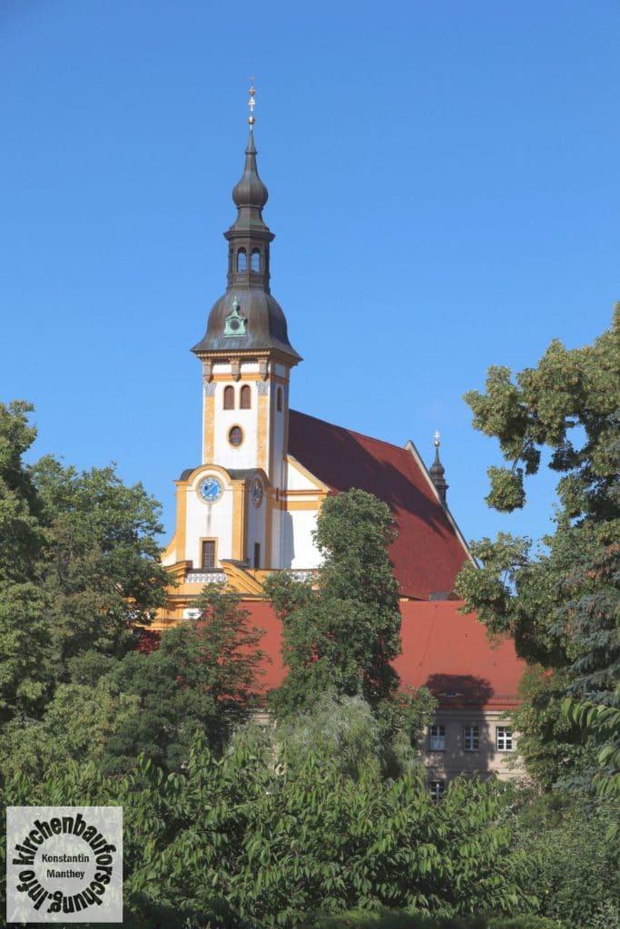 Klosterteich, Neuzelle, Fernsicht, Barock
