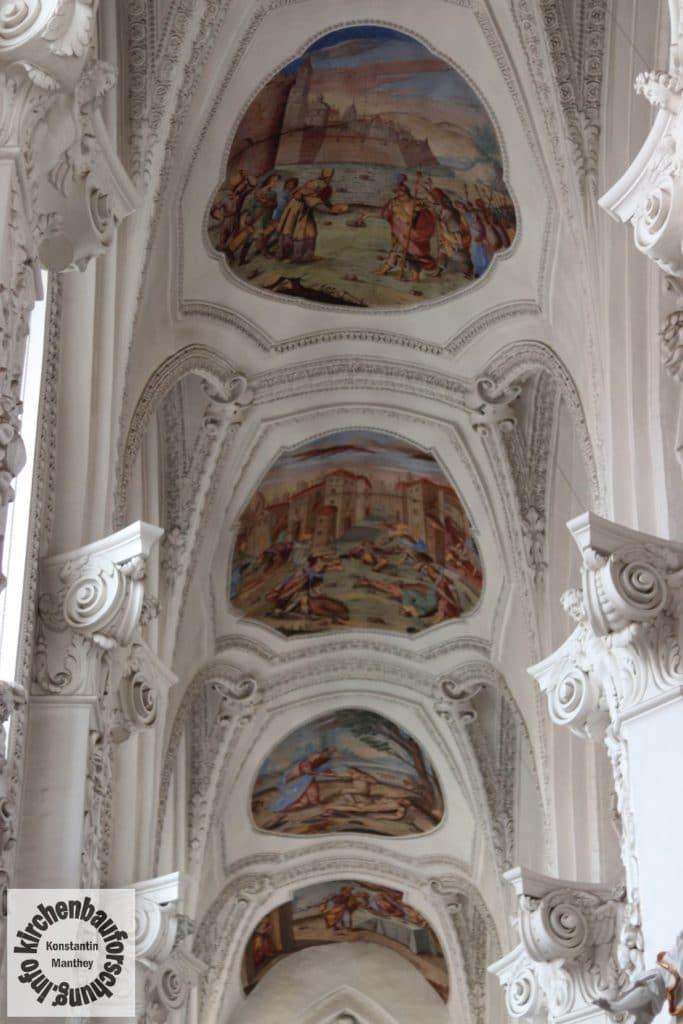 Decke, Kirchenraum, Barock