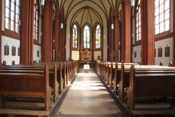 Kirche, Fürstenwalde, Neugotik, Innenraum