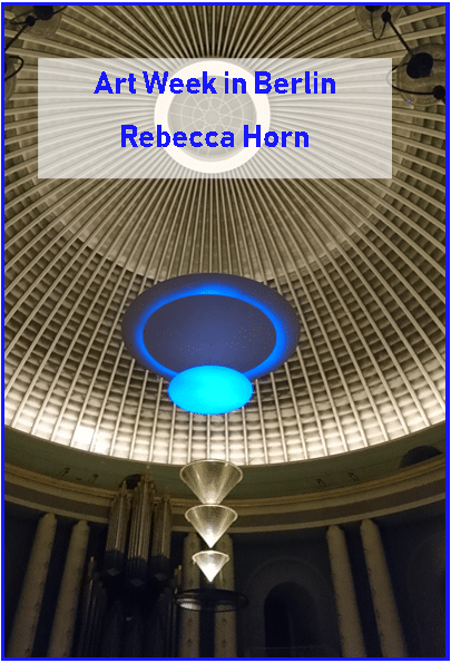 Glowing Core, Rebecca Horn, Artweek, St. Hedwig