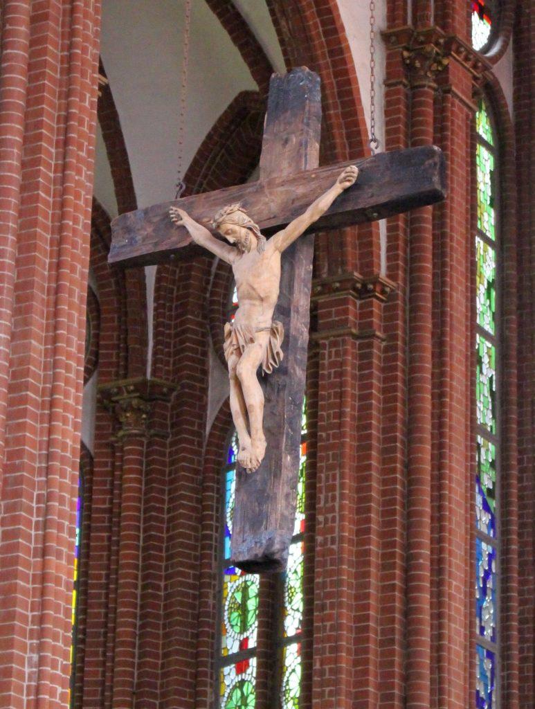 "Heilig Kreuz Frankfurt, Triumphkreuz, ""Himmlisches Jerusalem"", Kirchenbauforschung"