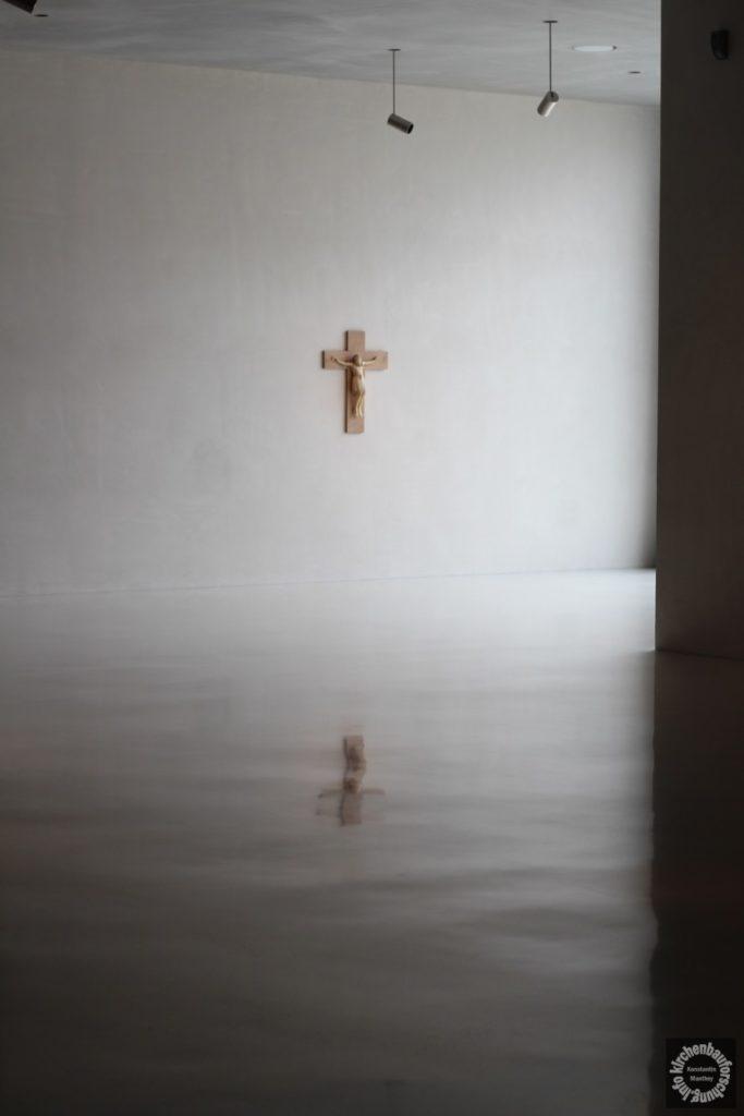 Kruzifix, Kreuz, Kolumba, Köln, 2014, Kirchenbauforschung