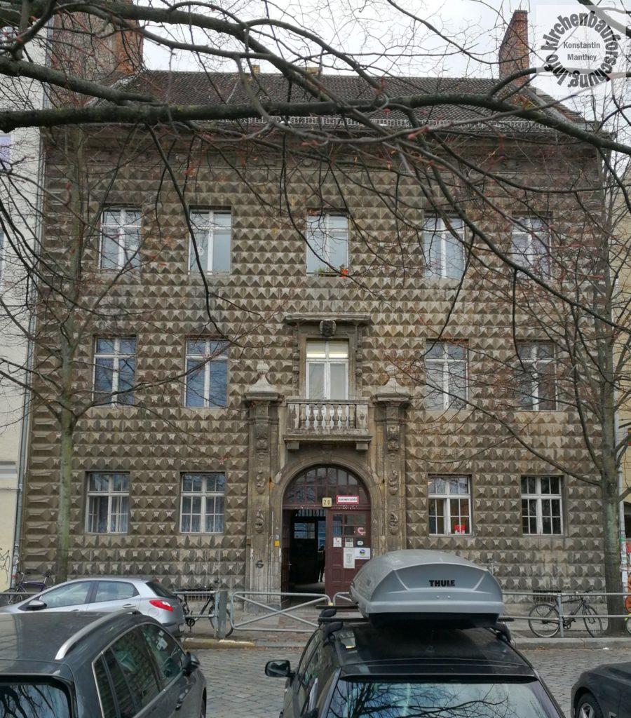 Ferrara, Berlin.Palazzo, Kirchenbauforschung