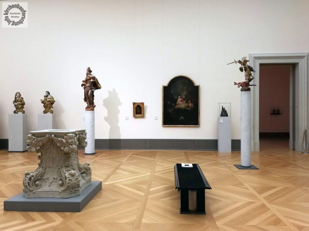 Pesne, Weihnachtsbild, Barock, Bode-Museum, Kirchenbauforschung