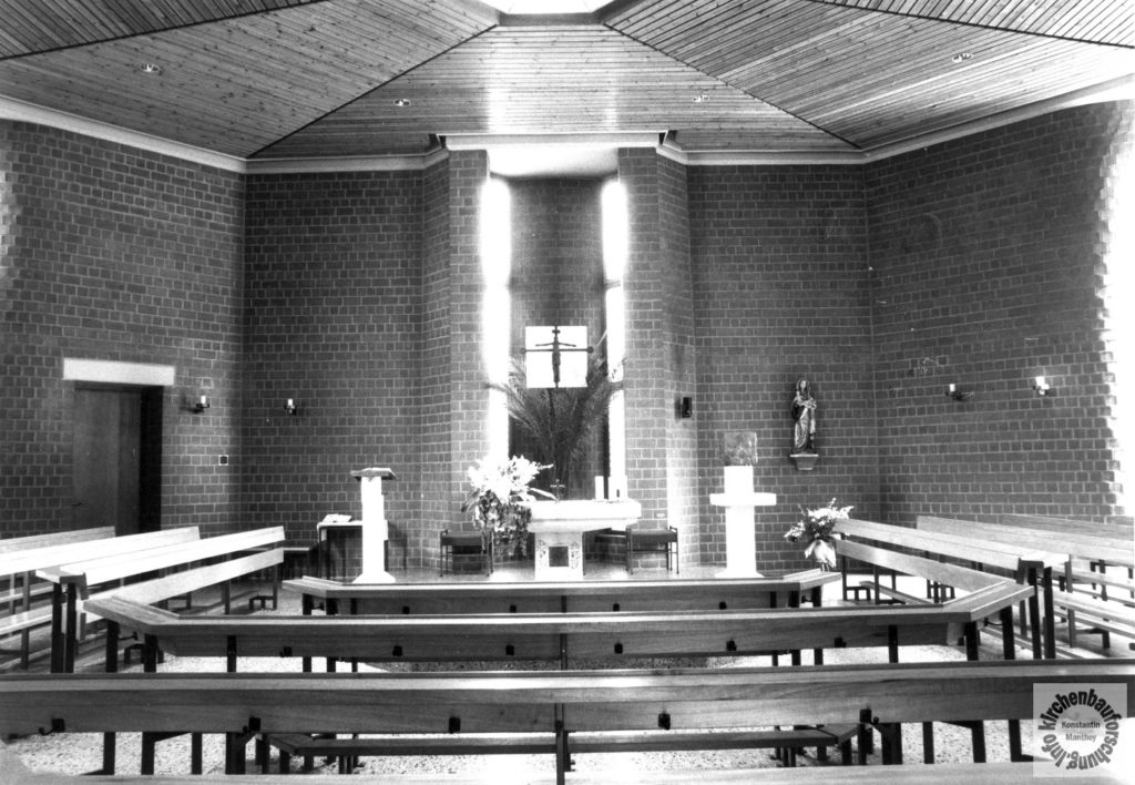 Stephanus, Günther Maiwald, Kirchenbauforschung