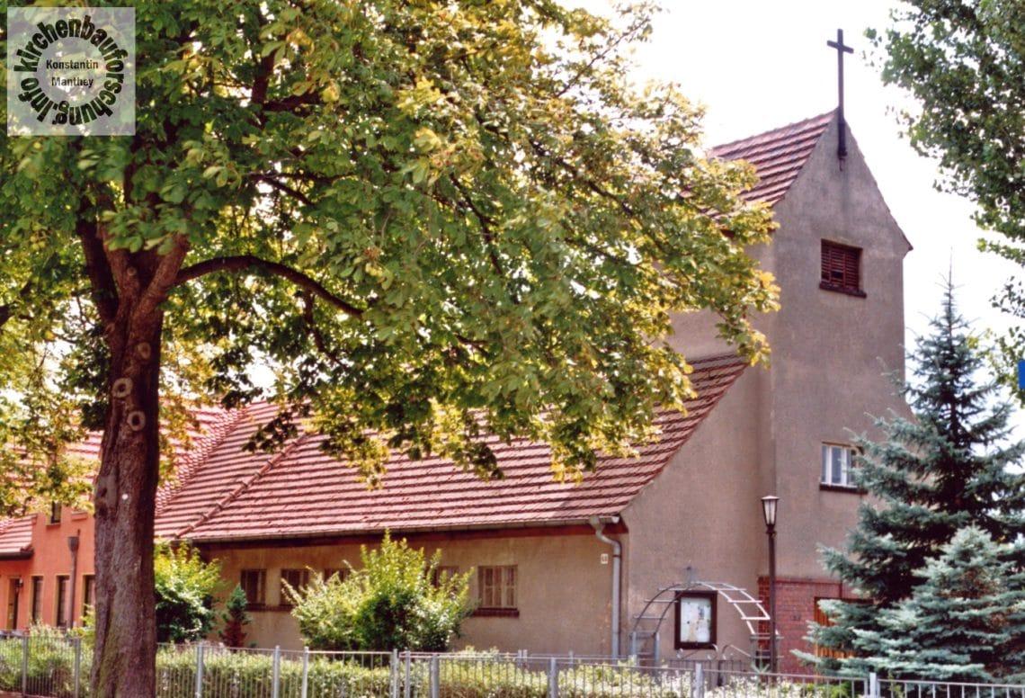 St. Bernhard, BRB, Brandenburg, Katholischer Kirchenbau, Karl Erbs