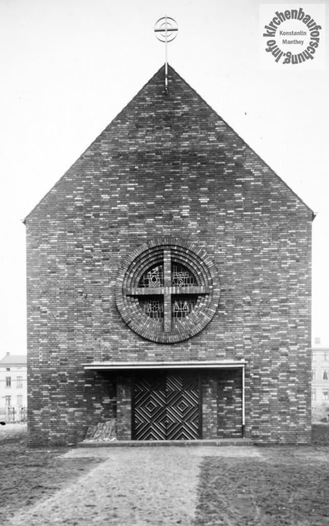 Josef Bachem, BARCH, Finow, St. Theresia, kirchenbauforschung