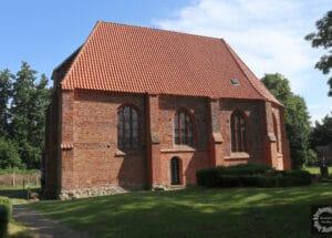St. Ewald, Bodstedt, Ansicht von Süden, Foto: K. Manthey, 2021